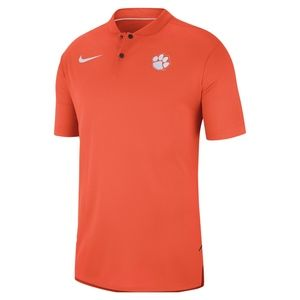 Clemson Tigers Nike Elite Coachs Blade Collar Polo